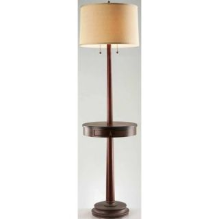 Lite Source Floor Lamp in Dark Walnut   LS 81347