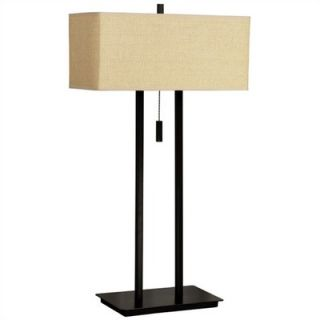 Kenroy Home Emilio 29 Table Lamp in Tan   30816BRZ