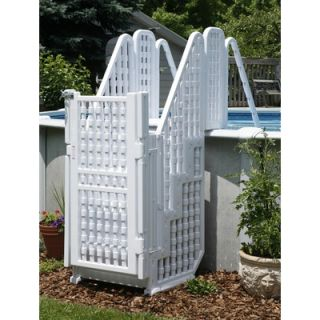 Swim Time Easy Step Pool Entry System with Gate