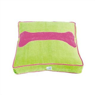 Eloise Living the Lime Life Terry Cloth Dog Bed