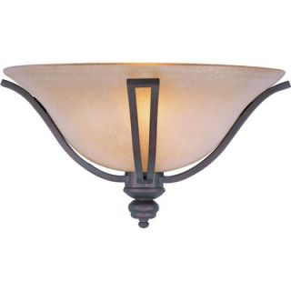 Maxim Lighting Madera One Light Wall Sconce in Oil Rubbed Bronze