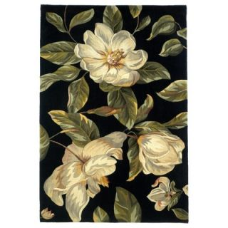 KAS Oriental Rugs Catalina Black Magnolia Rug