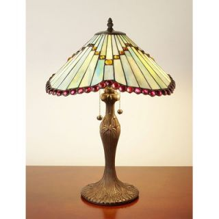 Warehouse of Tiffany Mission Style Tiffany Table Lamp   BB06+1491