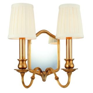Hudson Valley Lighting Williamsburg Endicott Mirrored Wall Sconce