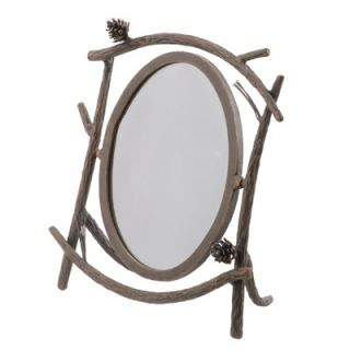 Stone Country Ironworks Pine Table Mirror   904 152