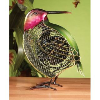 Deco Breeze Small Hummingbird Figurine Table Top Fan