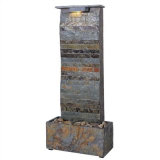 Kenroy Home Curvature Slate Tabletop/Wall Fountain