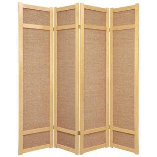 Oriental Furniture 72 Jute Shoji Screen in Natural   JKSHOJI