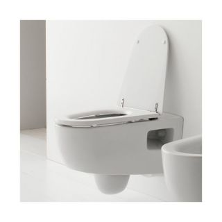 Tizi Wall Mounted Toilet in White