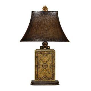Sterling Industries Embossed Block Table Lamp