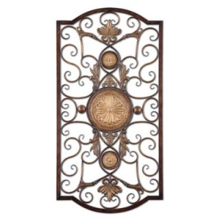 Uttermost Micayla Large Wall Art in Antiqued Gold
