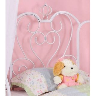 Powell Princess Emily Vintage Carriage Canopy Twin Bed