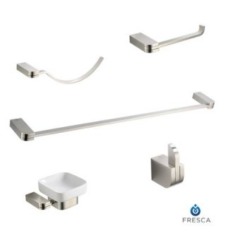Fresca Solido 5 Piece Bathroom Accessory Set   FAC1300BN