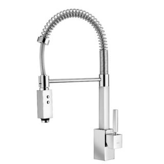Handle Single Hole Bar Faucet with Two Spray Hand Shower   Domino 176