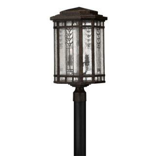 Hinkley Lighting Tahoe Copper Post Lantern in Regency Bronze