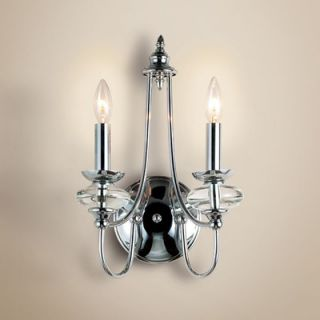 Eurofase Nottinghill Two Light Wall Sconce in Plating   17461 016