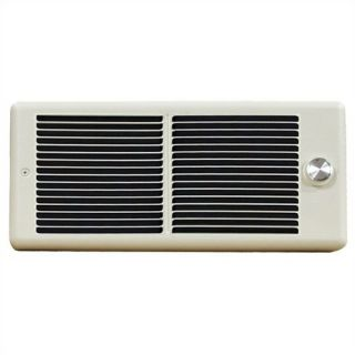 Register Style Double   Pole 240v Fan Forced Wall Heater w/ Wall Box