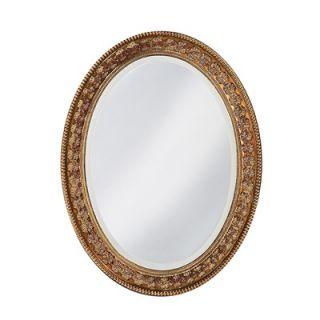 Howard Elliott Parma Wall Mirror in Antique Copper