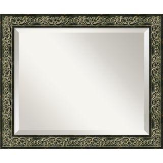 Amanti Art Tuscan Medium Mirror in Distressed Black   DSW01017