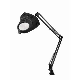 Lite Source Magnify Lite Magnifier Lamp with Clamp in Black