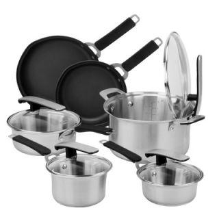 Pyrex Stainless Steel 10 Piece Cookware Set