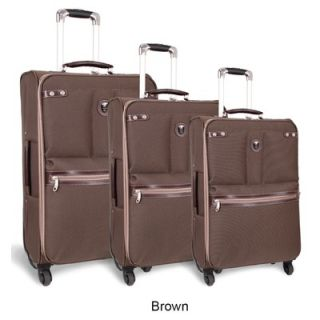 World Centennial 3 Piece 4 Wheels Expandable Luggage Set
