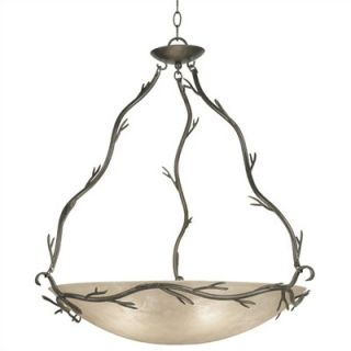 Kenroy Home Twigs 5 Light Pendant   90904BRZ