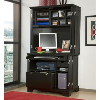 Home Styles Bedford Compact Office Cabinet and Hutch   88 5531 190