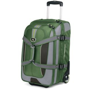 High Sierra AT6 22 2 Wheeled Expandable Carry On Duffel