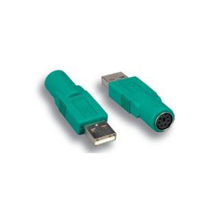 Comprehensive USB to Mouse Adapter A Male/Mini DIN   USBA MINI6F