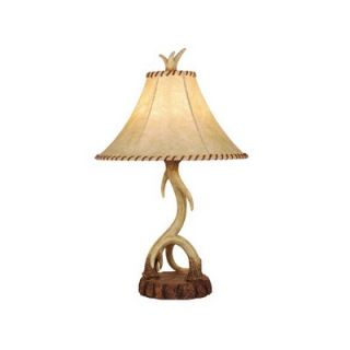Vaxcel Lodge Table Lamp in Nochian Stone   TB33066NS