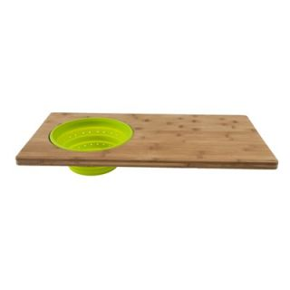 Core Bamboo Over The Sink 2 in 1 Cutting Board in One Tone