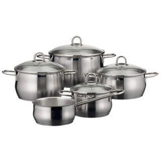 ELO Cookware Rubin Stainless Steel 9 Piece Cookware Set   90160