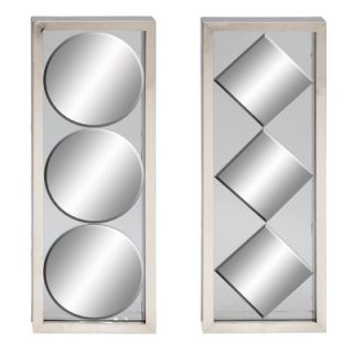 Aspire Modern Mirror Wall Panels (Set of 2)