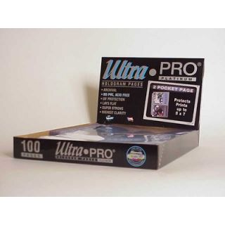 Ultra Pro 5 x 7 Photos Display Box (2 Pocket Pages)