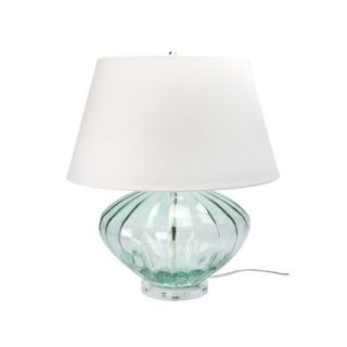 Lamp Works Recycled Glass Table Lamp in Melon   210