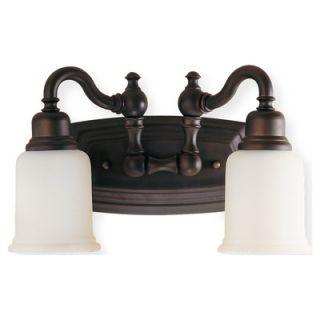 Feiss Canterbury Two Light Bath Vanity   VS8002 ORB / VS8002 PN
