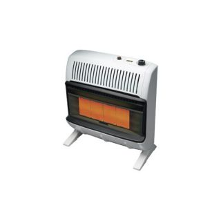 30000 BTU Liquid Propane Radiant Vent Free Wall Mount Heater