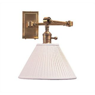 Robert Abbey Ant Bee Downbridge Swing Arm Wall Lamp in Antique Natural