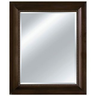 Imagination Mirrors Modern Saloon Wall Mirror in Chocolate   95003