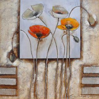 Yosemite Home Decor Poppies for You I Canvas Art   FCB4403Q 1