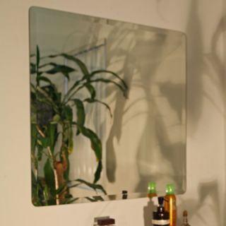 Spancraft Glass Regency Square Frameless Mirror   209 18