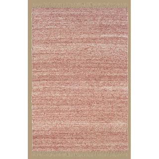 Linon Rugs Verginia Berber Red/Natural Rug