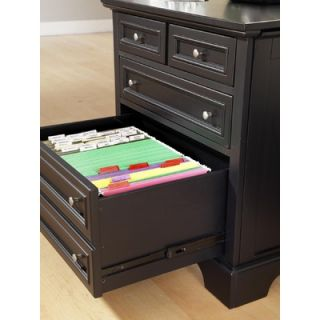 Home Styles Bedford Expan Computer Desk 2 Storage Drawers   88 5531