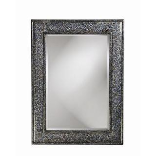 Howard Elliott Del Mar Wall Mirror in Mother of Pearl Shell Finish