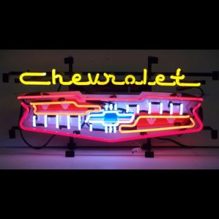Neonetics Cars and Motorcycles Chevrolet Grill Neon Sign