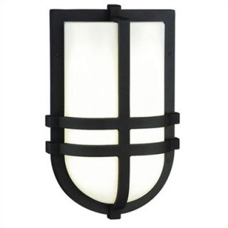 Philips Forecast Lighting Dakota Outdoor Wall Lantern in Black