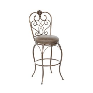 American Heritage Solace Bonded Leather Stool   126907CLA