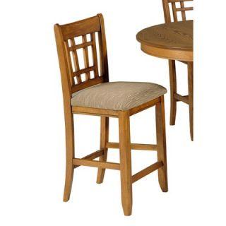 Liberty Furniture Santa Rosa Pub Casual Dining Upholstered Barstool in
