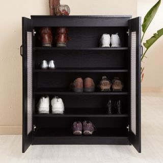 Hokku Designs Rockwell Multi Purpose Storage Cabinet in Black   ZOK